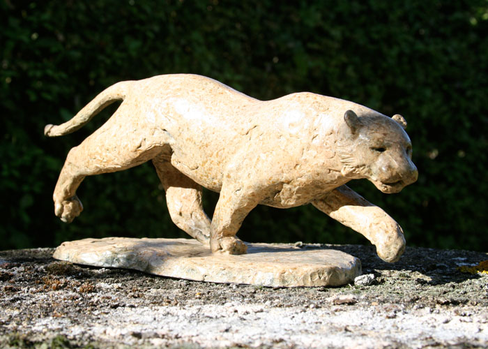 Laurence Broderick tiger wildlife sculpture